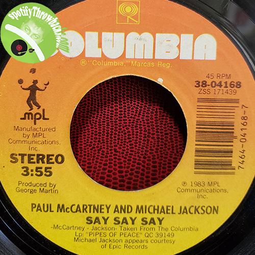 Paul McCartney & Michael Jackson. May The Best Man Win!