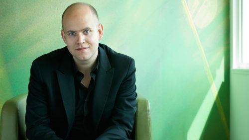 Daniel Ek of Spotify, worlds most popular streaming service