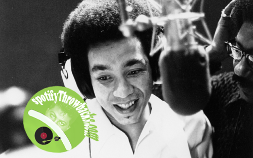 Rare photo of Smokey Robinson in the studio recording. I'm not sure what year this is