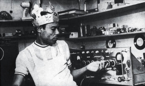 King Tubby, the reggae DJ Master