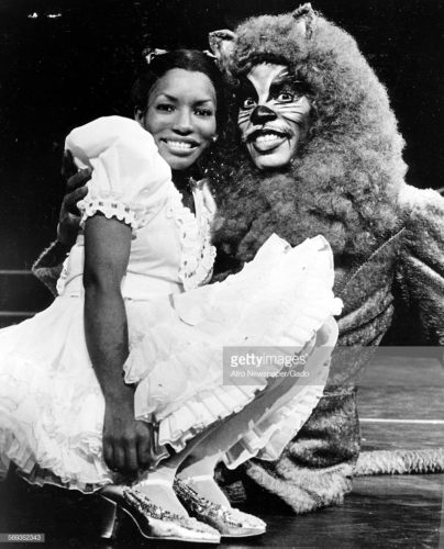 Stephanie Mills was the original Dorothy in The Wiz