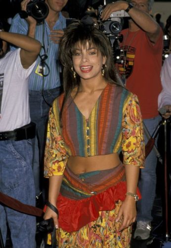 Paula Abdul on SpotifyThrowbacks.com
