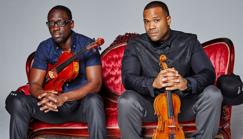 Black Violin, a phenomenal musical duo! SpotifyThrowbacks.com