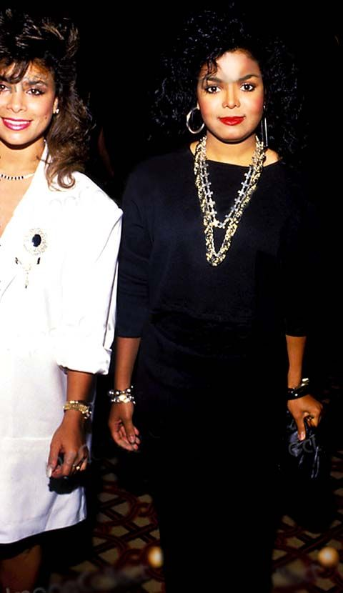 Paula Abdul, with Janet Jackson. SpotifyThrowbacks.com