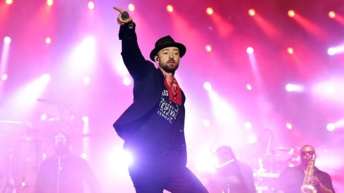 Justin Timberlake, SpotifyThrowbacks.com