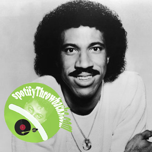 Lionel Richie's Greatest Hits - SpotifyThrowbacks.com