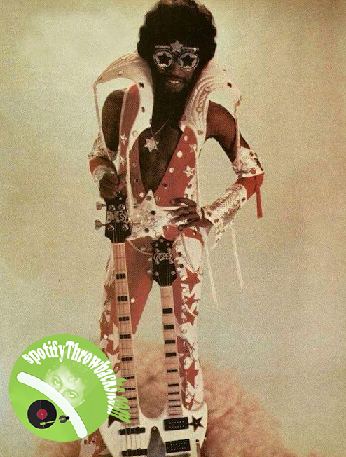 The legendary Bootsy Collins - SpotifyThrowbacks.com