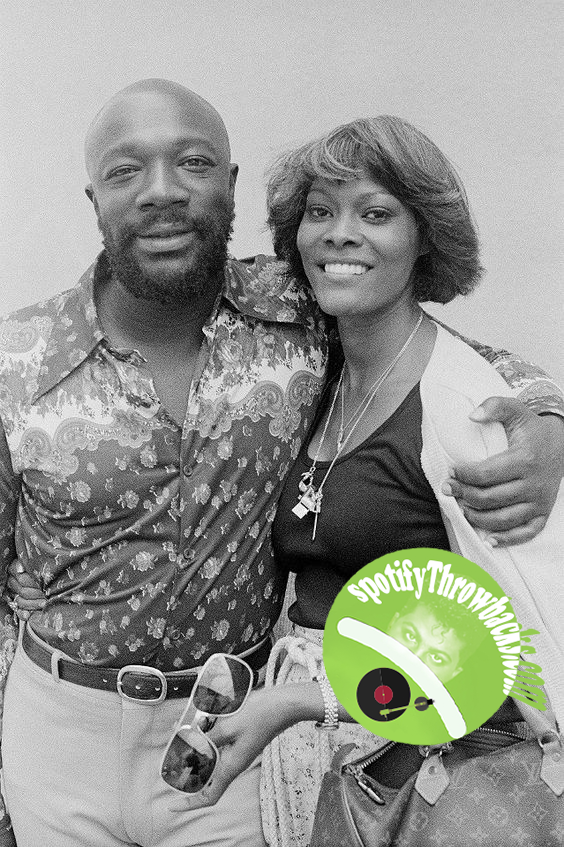The late Isaac Hayes & Dionne Warwick - SpotifyThrowbacks.com
