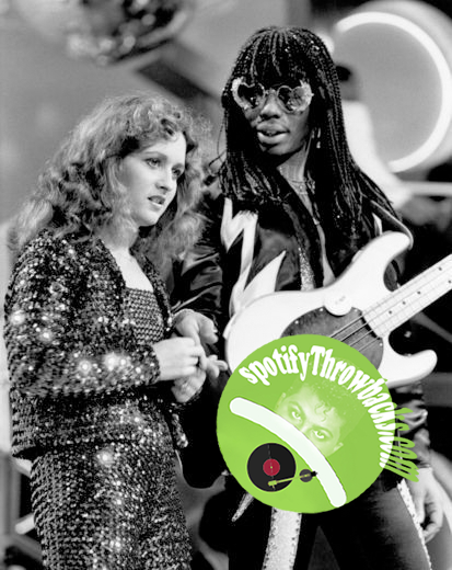 The late Teena Marie & the late Rick James - SpotifyThrowbacks.com