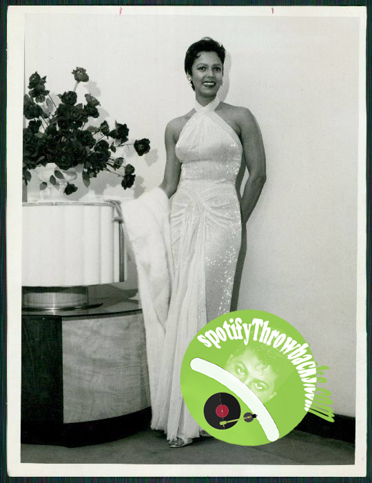 Dorothy Dandridge - SpotifyThrowbacks.com