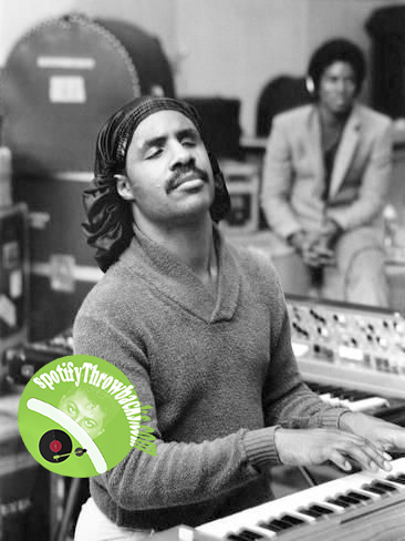Stevie Wonder - SpotifyThrowbacks.com