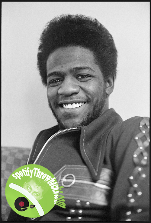 The legendary Al Green - SpotifyThrowbacks.com