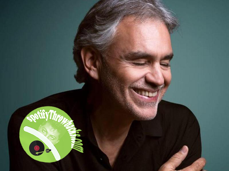 Andrea Bocelli - SpotifyThrowbacks.com