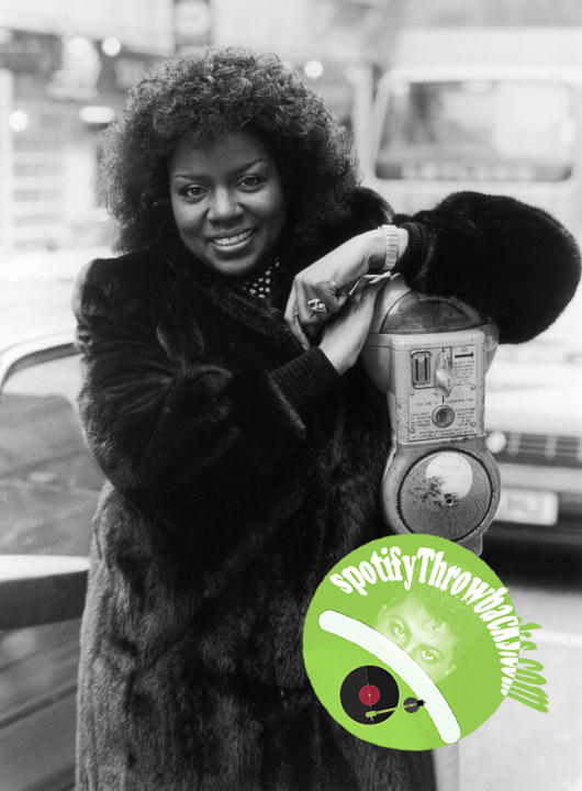 Gloria Gaynor - SpotifyThrowbacks.com