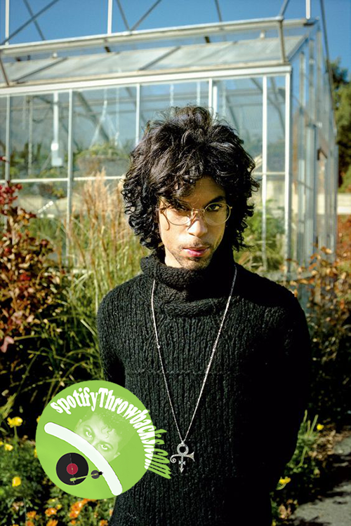 Black rock legend Prince - SpotifyThrowbacks.com