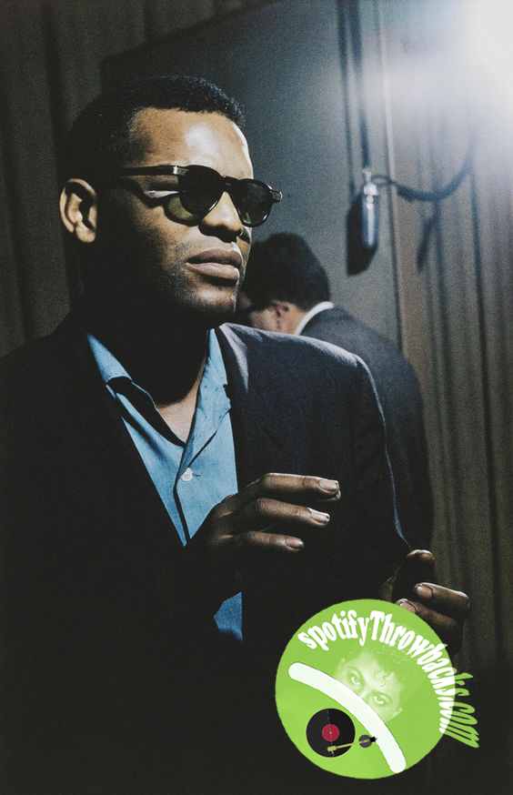 The late Ray Charles - SpotifyThrowbacks.com