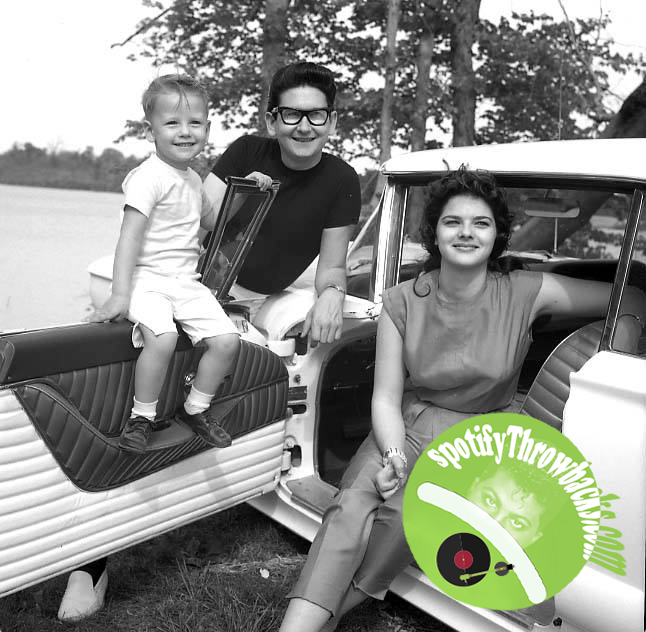 Roy Orbison and family - SpotifyThrowbacks.com