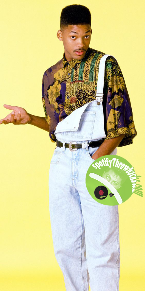 The legendary actor and rapper Will Smith - SpotifyThrowbacks.com