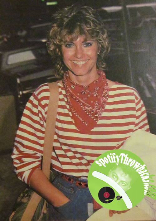 The legendary Olivia Newton-John on SpotifyThrowbacks.com