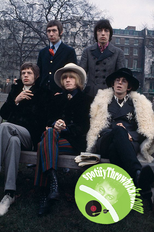 The Rolling Stones - SpotifyThrowbacks.com