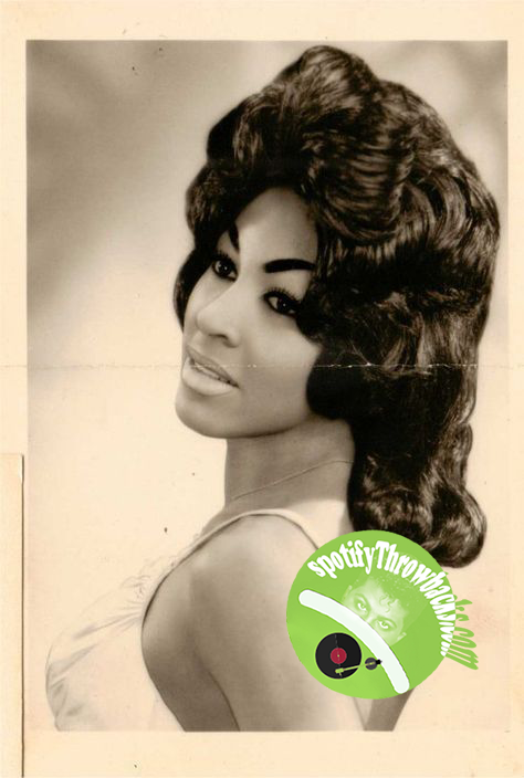 A very young Tina Turner - SpotifyThrowbacks.com
