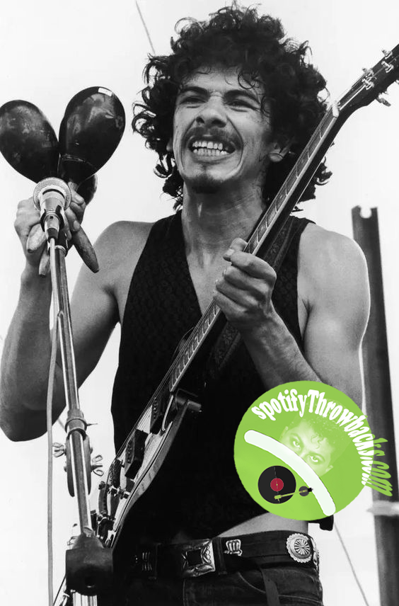 Carlos Santana - SpotifyThrowbacks.com