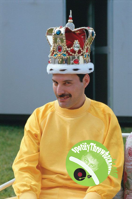 The late Freddy Mercury - SpotifyThrowbacks.com