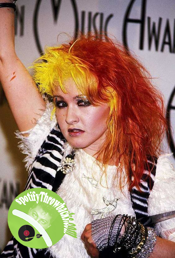Cyndi - Lauper - She's So Unusual - SpotifyThrowbacks.com