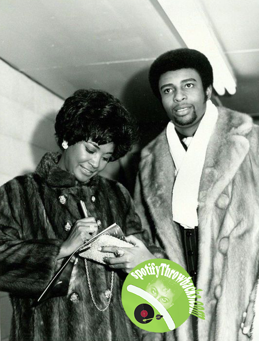 Nancy Wilson and Dennis Edwards - SpotifyThrowbacks.com