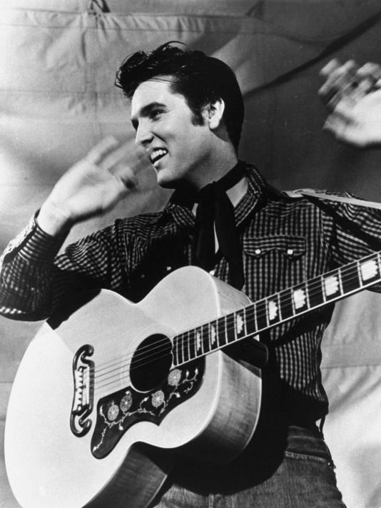 Elvis Presely - SpotifyThrowbacks.com