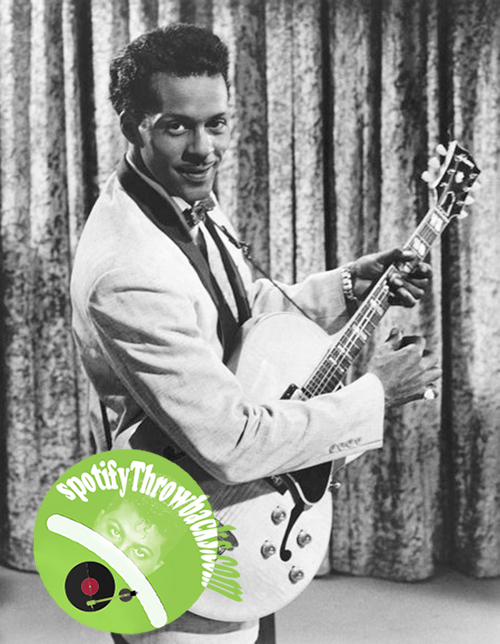 Chuck Berry - SpotifyThrowbacks.com