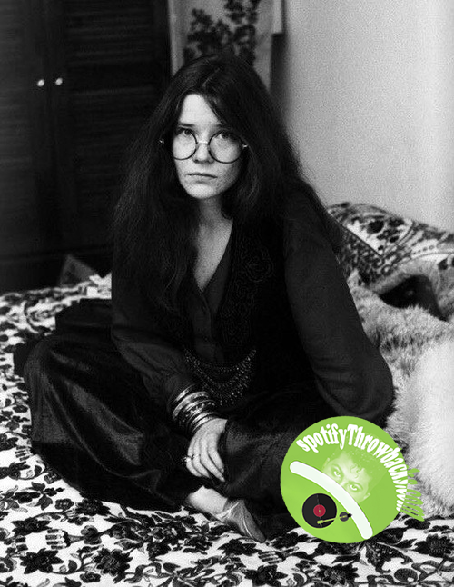 Janis Joplin - SpotifyThrowbacks.com