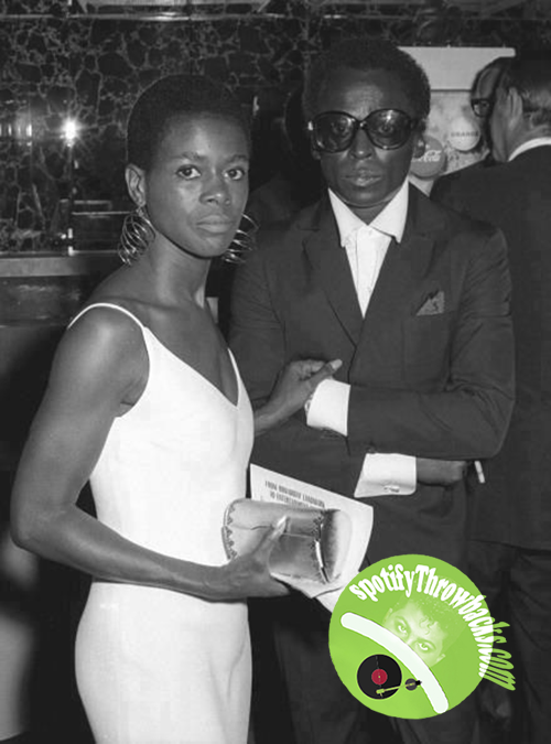 Cicely Tyson and Miles Davis - SpotifyThrowbacks.com