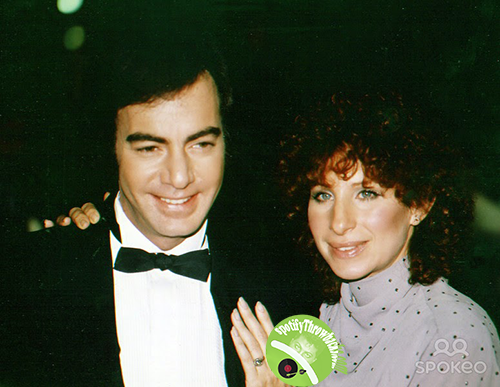 Neil Diamond and Barbra Streisand - SpotifyThrowbacks.com