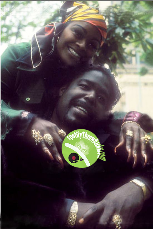 Barry White and Wife - SpotifyThrowbacks.com