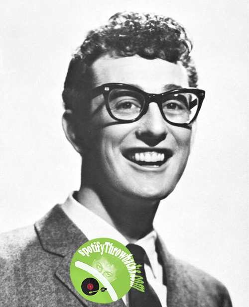 Buddy Holly - SpotifyThrowbacks.com