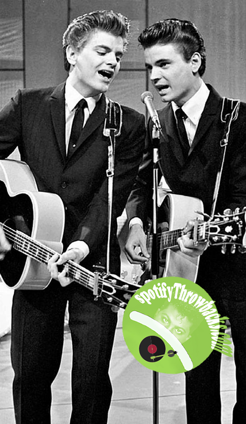 The Everly Brothers - SpotifyThrowbacks.com