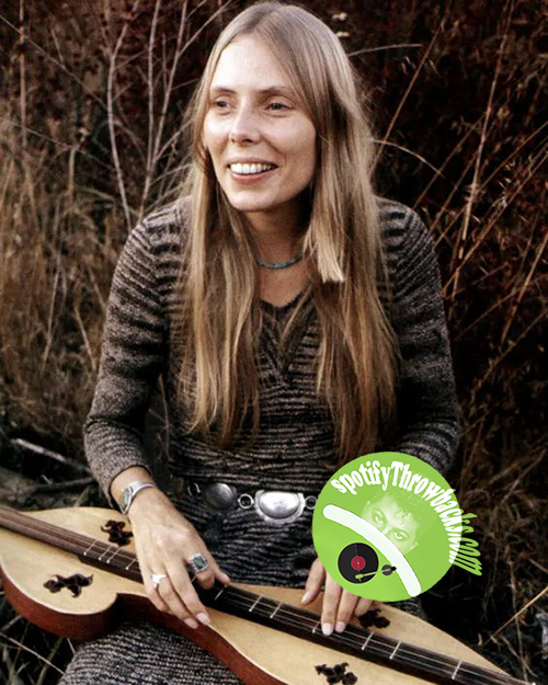 Joni Mitchell - SpotifyThrowbacks.com