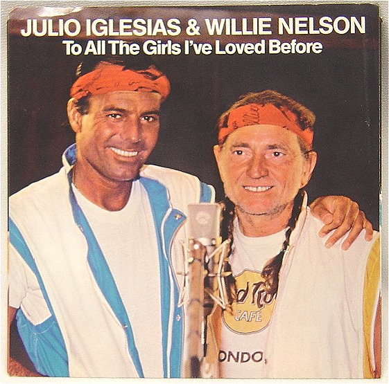 Julio Iglesias & Willie Nelson - SpotifyThrowbacks.com
