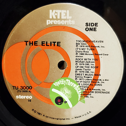 K-TEL Records - SpotifyThrowbacks.com