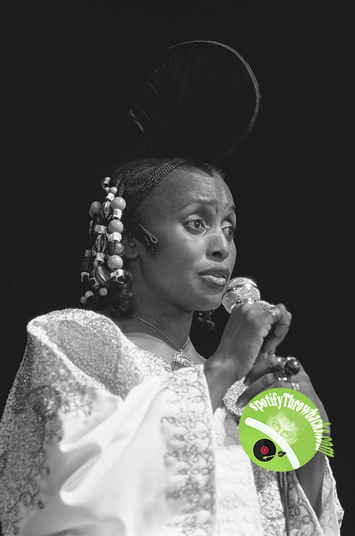 Mama Africa aka Miriam Makeba - SpotifyThrowbacks.com