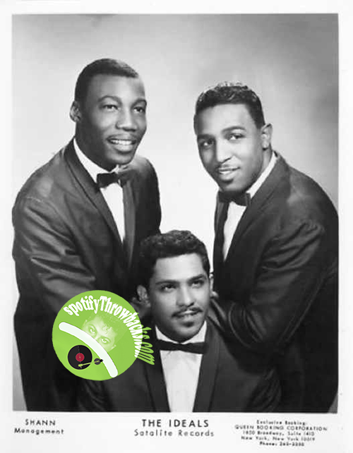 Three very handsome men called The Ideals - SpotifyThrowbacks.com