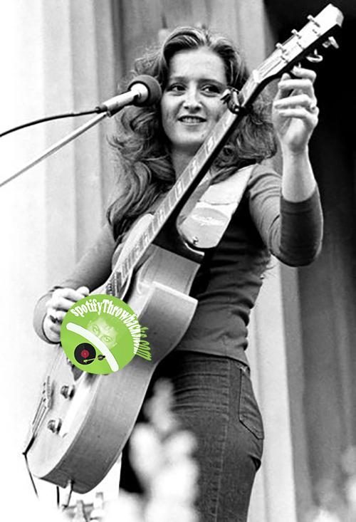 Bonnie Raitt - SpotifyThrowbacks.com