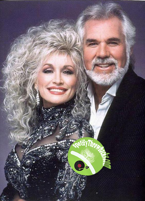 Dolly Parton and Kenny Rogers - SpotifyThrowbacks.com