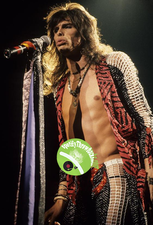 Steven Tyler - SpotifyThrowbacks.com
