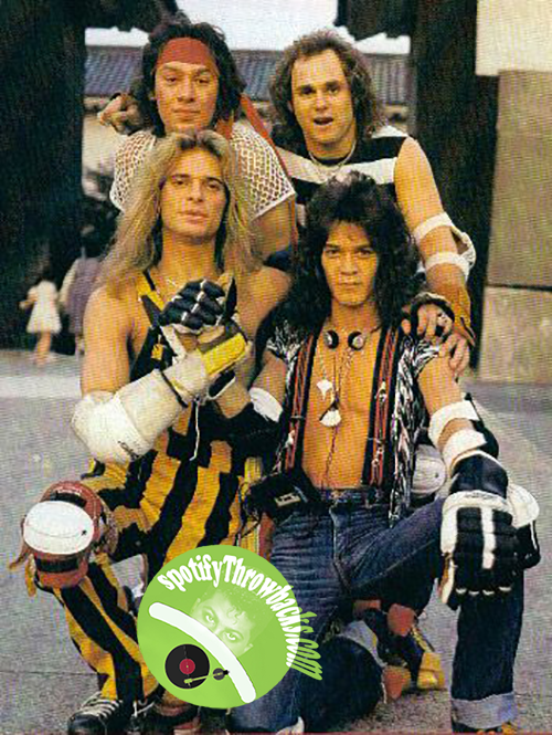 Van Halen - SpotifyThrowbacks.com