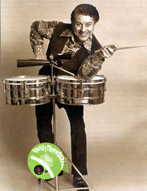 Tito Puente - SpotifyThrowbacks.com